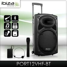 700 WATT DJ PA Beschallungsanlage Funkmikrofon Port 12 SD USB MP3 DJ System