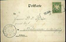 430039) Bayern R2 Velden b. Vilsh. a. sw AK, Helbig 60 Pkte, n. Neubrunn 1899