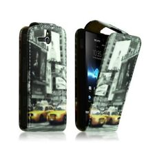 Housse Coque Etui pour Sony Xperia U Motif LM06