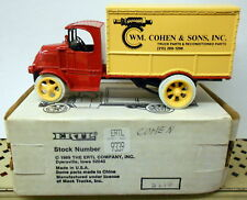 William Cohen & Sons Thorndale Pa 1926 Mack Box Truck Diecast Ertl Bank #9339