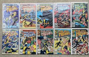New Mutants: Vol. 1 Series 1-100+Annuals~🔥Series~VGD/FN/NM~Missing 1 Annual