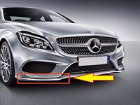 NEW GENUINE MERCEDES MB CLS W218 AMG FRONT BUMPER LOWER CHROME LIP RIGHT O/S