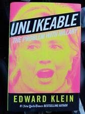 New UNLIKEABLE  The Problem with Hillary by Edward Klein