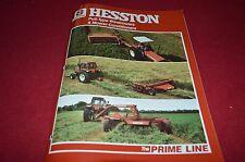 Hesston 1150 1085 1014 1010 1014+4 Mower Conditioner Dealer's Brochure DCPA2