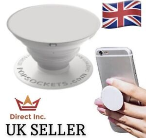 BRAND NEW PopSockets PopGrip 707025 Mobile Phone Stand - White