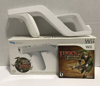 Nintendo Wii Zapper with Link's Crossbow Training (Wii) Complete in box