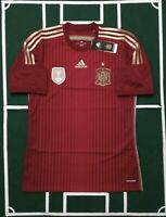 ADIDAS SELECCION ESPAÑOLA JERSEY MAILLOT LOCAL 2014 WORLD CHAMPIONS 2010 PATCH