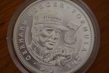 Gerhard Berger 1992 10 DOLLARO ARGENTO PROOF COIN
