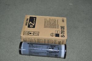 3 Riso EZ black ink cartridges S-7612E
