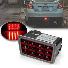 Red Lens LED Rear Fog Light for 11-up Subaru WRX STi Impreza F1 Style Brake Lamp