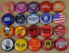 Set Mit 20 Beer Bottle Cap USA Bottle Caps Ship Rabbit Bock Cola Budweiser Etc