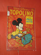 ALBO D'ORO TOPOLINO n° 205-a- DEL 1950-LIRE 40-chiave smarrita-mondadori- disney
