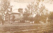Winnebago Minnesota~High School~Houses~Dirt Road~M Sorenson~1912 RPPC