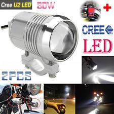 GOODKSSOP 2PCS Super Bright CREE U2 30W LED Spotlight Headlight Work Light Fog