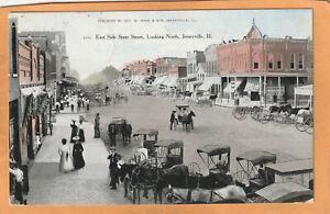 Jerseyville ILL 1909 Postcard Mailed