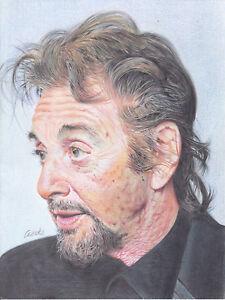 Al Pacino ART PENCIL DRAWING A4