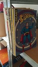 LOT SUPERMAN GEANT AVEC TETE DE SERIE SAGEDITION EN TBE