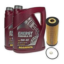 10 Liter MANNOL SAE 5W-40 Formula PD Öl + Ölfilter SH 414P von SCT Germany