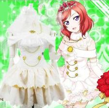 Lovelive Liebe Live Maki Nishikino Brautkleid Anime Frauen Kleid Cosplay Kostüm