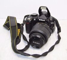 Nikon D3100 14.2MP Digital SLR Camera With 18-55mm Lens No Charger!