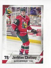 2017-18 Halifax Mooseheads (QMJHL) Jocktan Chainey (New Jersey Devils)