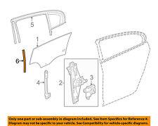 Buick GM OEM 10-16 LaCrosse Window Glass-Rear Door-Run Weather Strip 25859682