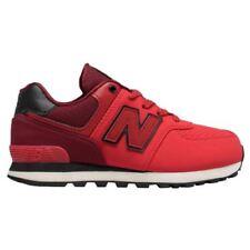 Scarpe scarpe da ginnastici rossi marca New Balance per bambine dai 2 ai 16 anni