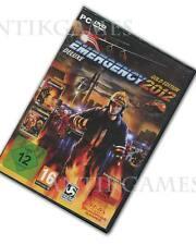 Emergency 2012 & 3 & 4 = Gold Edition bomberos simulación alemán PC