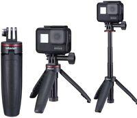 Ulanzi MT-09 Gopro Vlog Extension Pole Tripod Mini Selfie Stick Tripod Monopod