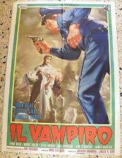 MANIFESTO IL VAMPIRO PAUL LANDRES JOHN BEAL COLEEN GRAY KENNETH TOBEY RARO V3 2F