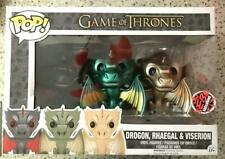 Funko Pop EB Games Exclusive Game Of Thrones Baby Dragons Metallic 3 Pack