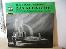 E 80 470 Wagner Das Reingold Frantz Kempe BERLIN Electrola con G estéreo EX +