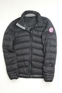 Canada Goose Mens Brookvale Slim Fit Packable Down Jacket Black Small