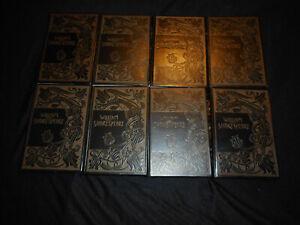 Shakespeare Oeuvres complètes en 8 volumes Editions Jean de Bonnot