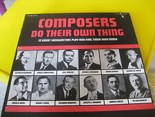 Composers Do Their Own Thing Pelican Records ‎– LP 120 1973