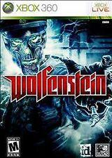 ** BRAND NEW **  WOLFENSTEIN (XBOX 360 VIDEO GAME)