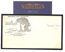 MS2228 1861 USA Patriotic envelope advert/Unused