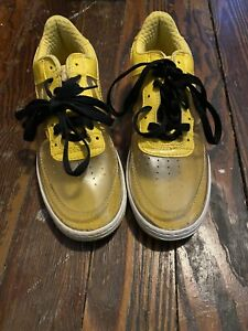 NIKE clear AIR FORCE 1 Invisible Clear Yellow MENS 7.5 (Rare)