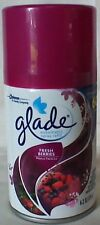 Glade Automatic Spray Air Freshener Refill,Fresh Berries 6.2 oz Lysol Air wick