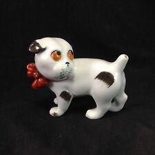 Pfeffer Gotha Germany Dog Stick Pin Holder Cushion Ceramic Figurine