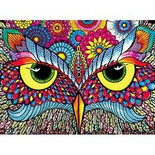 Buffalo Games Owl Eyes Jigsaw Puzzle from the Vivid Collection (1000 Piece) NEW