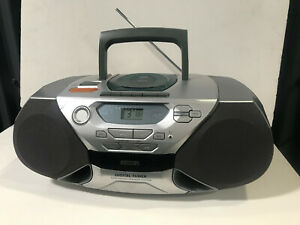 Philips AZ1040  PHILIPS CD REWRITEABLE CD AM-FM RADIO Cassette Tested Works
