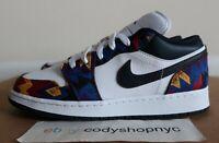 DS Nike Air Jordan 1 Low SE GS Nothing But Net sz 6Y white blue multi CZ8657-100