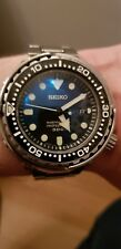 Seiko Marine Master 300, Tuna CAN SBBN031,7C46-0AG0. Full set with extras