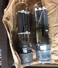 Matched Pair RCA Radiotron VT-4C 211 Tubes - %105 Emission - Tested on Amplitrex