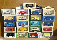 LLEDO DIECAST MODEL 1952 VW BEETLE'S & 1955 VW VAN CHOOSE FROM LIST LOT 24G