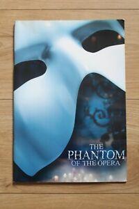 The Phantom of the Opera Theatre Programme (Cameron Mackintosh & Co.)