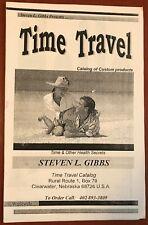 Steven Gibbs Time Travel Catalog