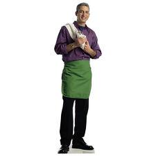 BARTENDER Green Apron Pub Barkeep Lifesize CARDBOARD CUTOUT Standee Standup Prop