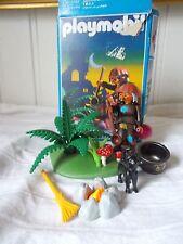 PLAYMOBIL ® 3838 Sorcière / chaudron chat champignons feu boite 1995